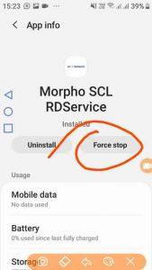 morpho fingerprint device