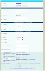 IRCTC Agent REGISTRATION FORM