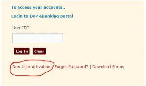 post offine net banking Post Office Internet Banking