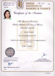 iibf-Certificat