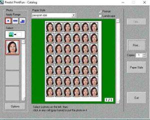 passport size photo in mrph mr photo software