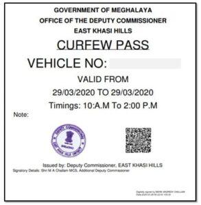 CORONA EPASS Lockdown Pass