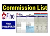 Fino Bank commission details,new Fino Payment Bank Commission List