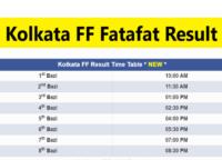Kolkata FF Fatafat Result Today Live 16July, Online Kolkata FF Today Result