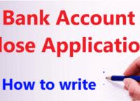 bank account close application Pdf Hindi– एप्लीकेशन बैंक खाता बंद करवाने के लिए